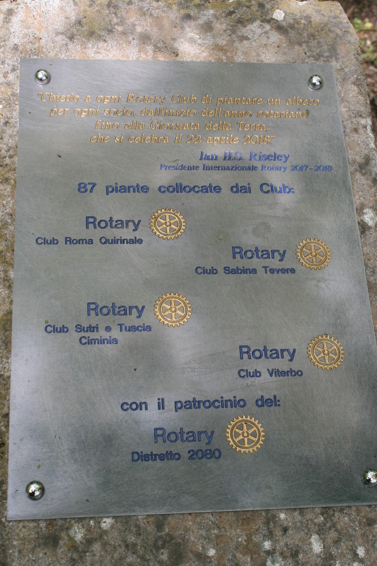 Gallery - Visita al Bosco del Rotary di Soriano nel Cimino