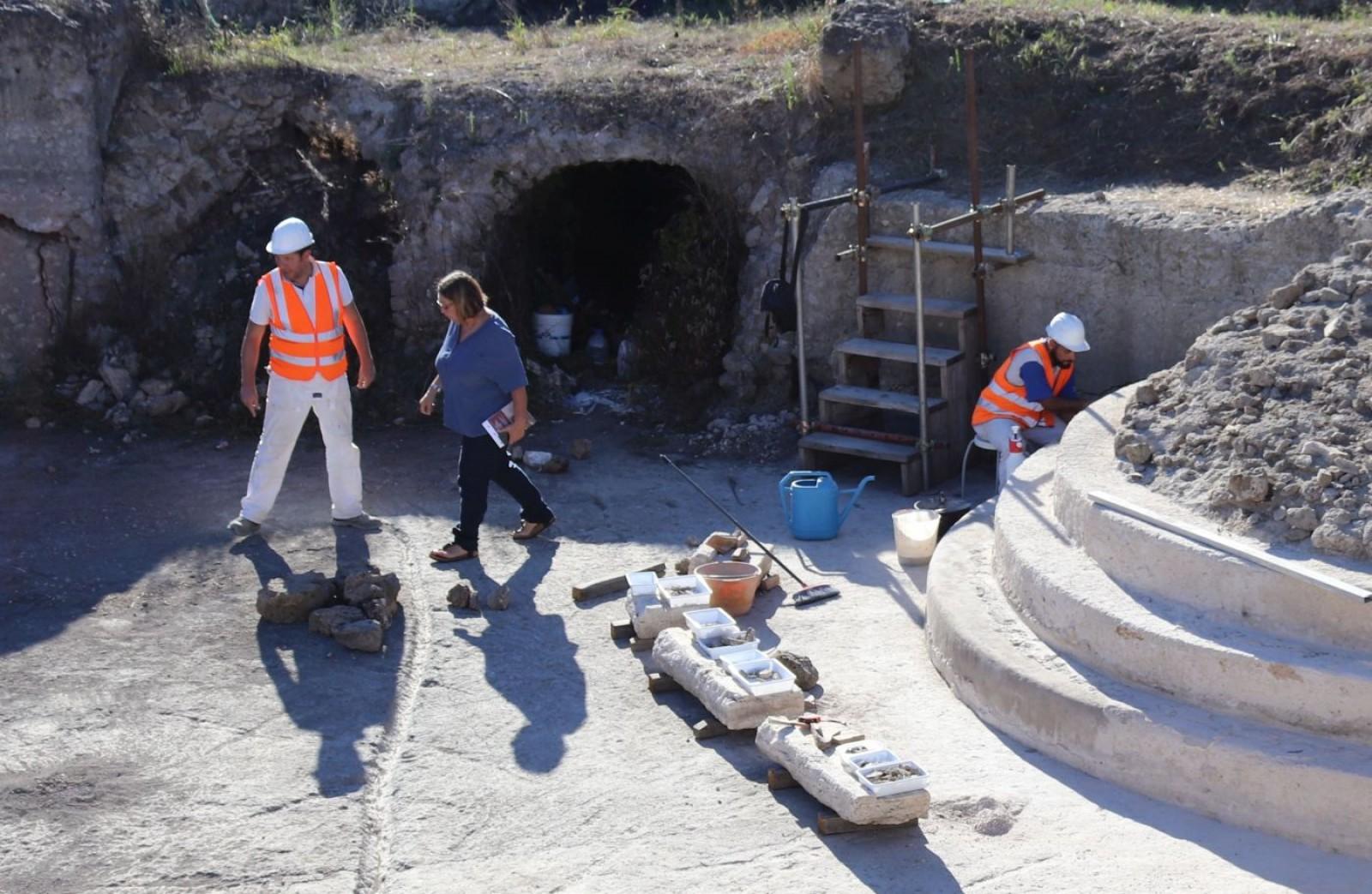 Gallery - Recupero Vasca romana di Poggio della Guardia di Sipicciano