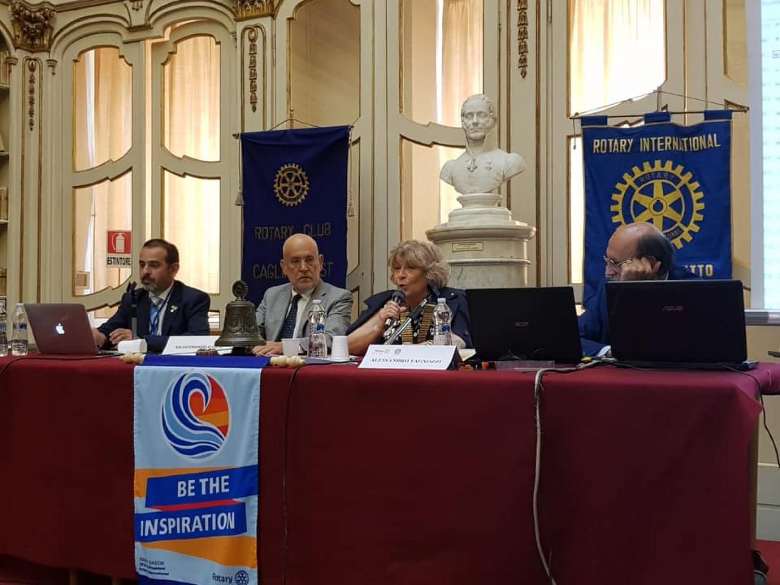 Gallery - Seminario Distrettuale Comunicazione e Nuove Generazioni per i Rotary Club zona Sardegna del Distretto 2080 R.I.