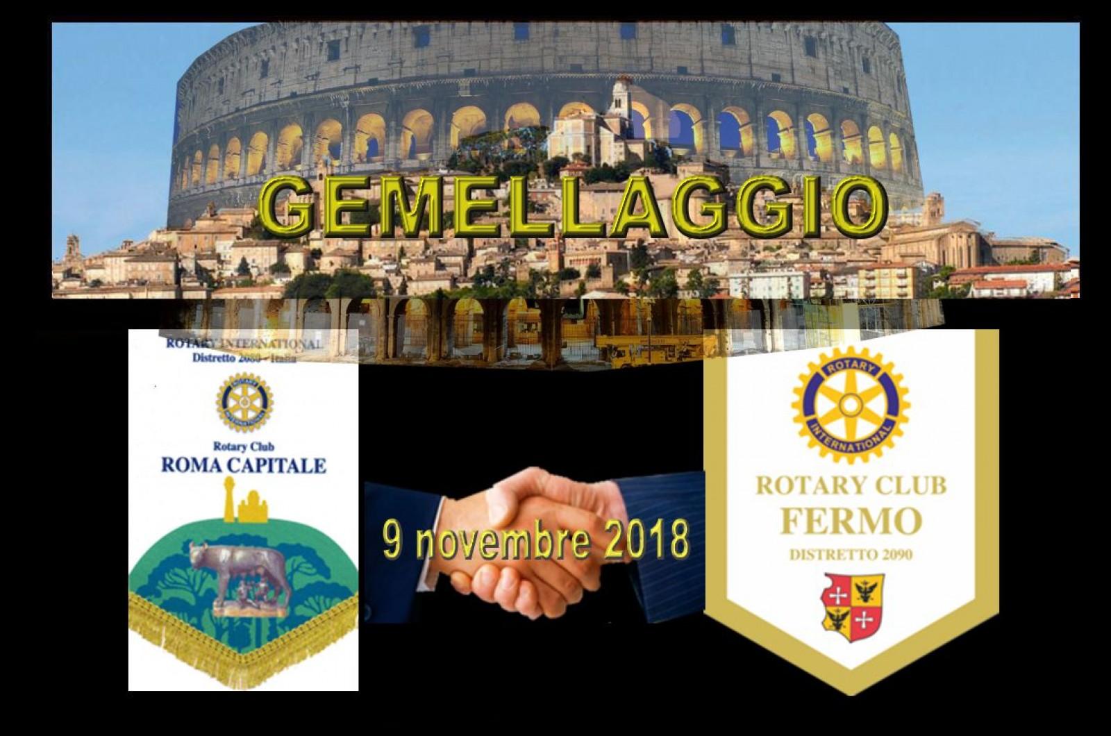 Gallery - Gemellaggio Rotary Club Roma Capitale e Rotary Club Fermo