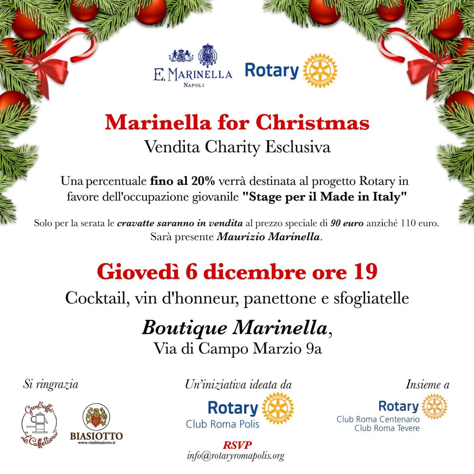 Gallery - Marinella for Christmas