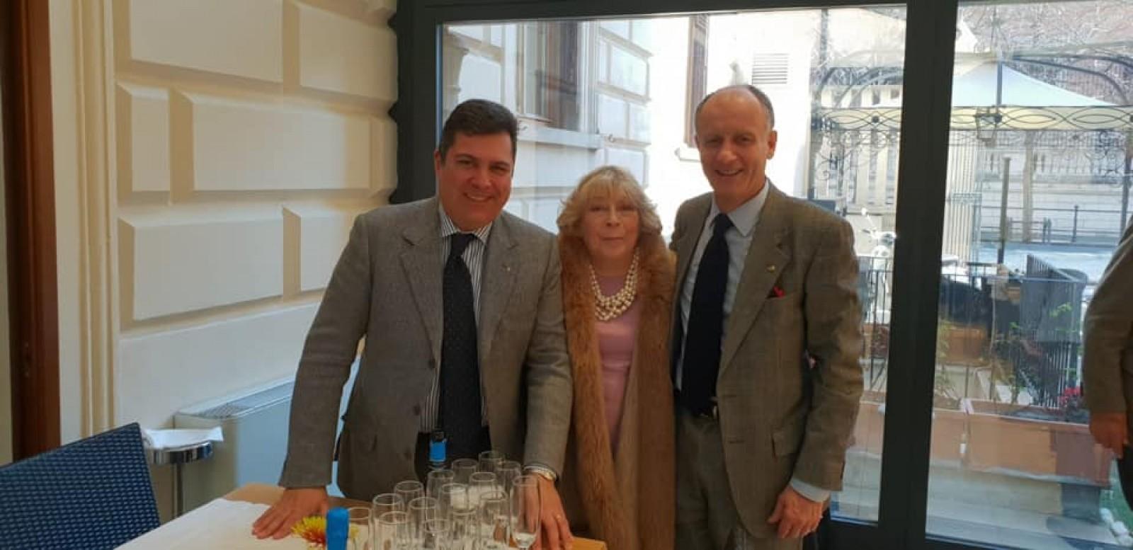 Gallery - Gabriele Andria prescelto Governatore Designato A.R. 2021-22 del Distretto 2080