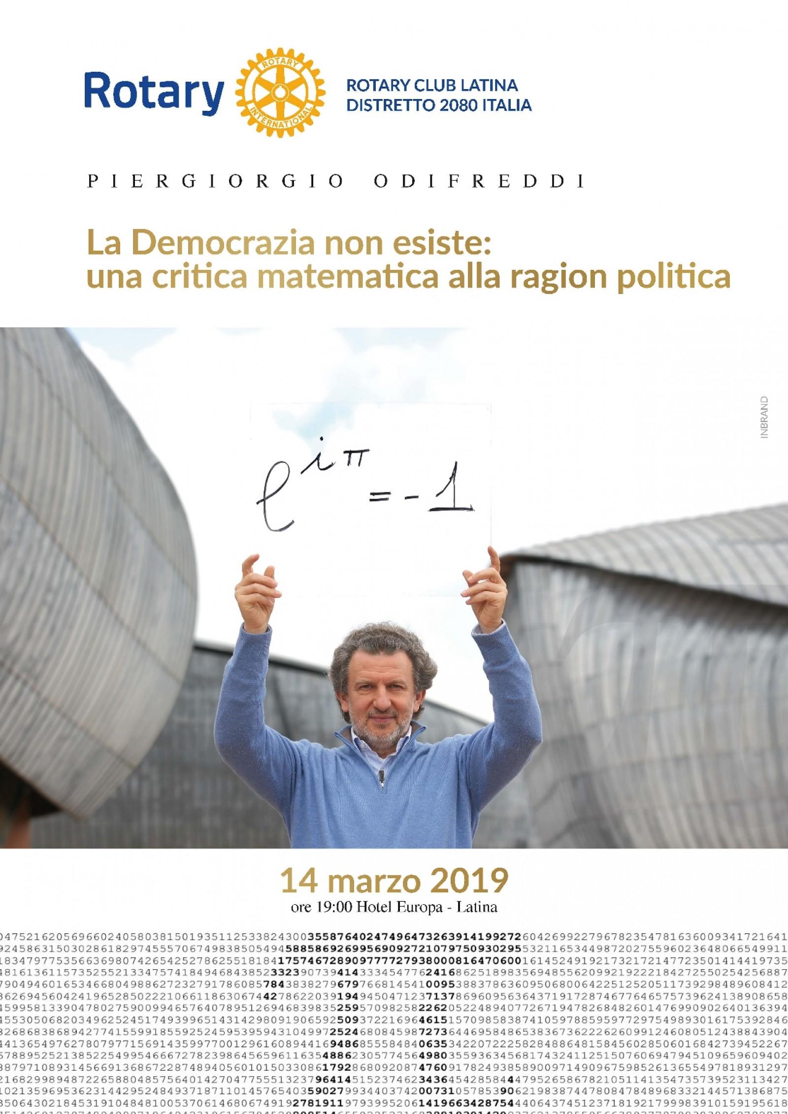 """Gallery - CONVIVIALE: """"La Democrazia non esiste: una critica matematica alla ragion politica"""""""