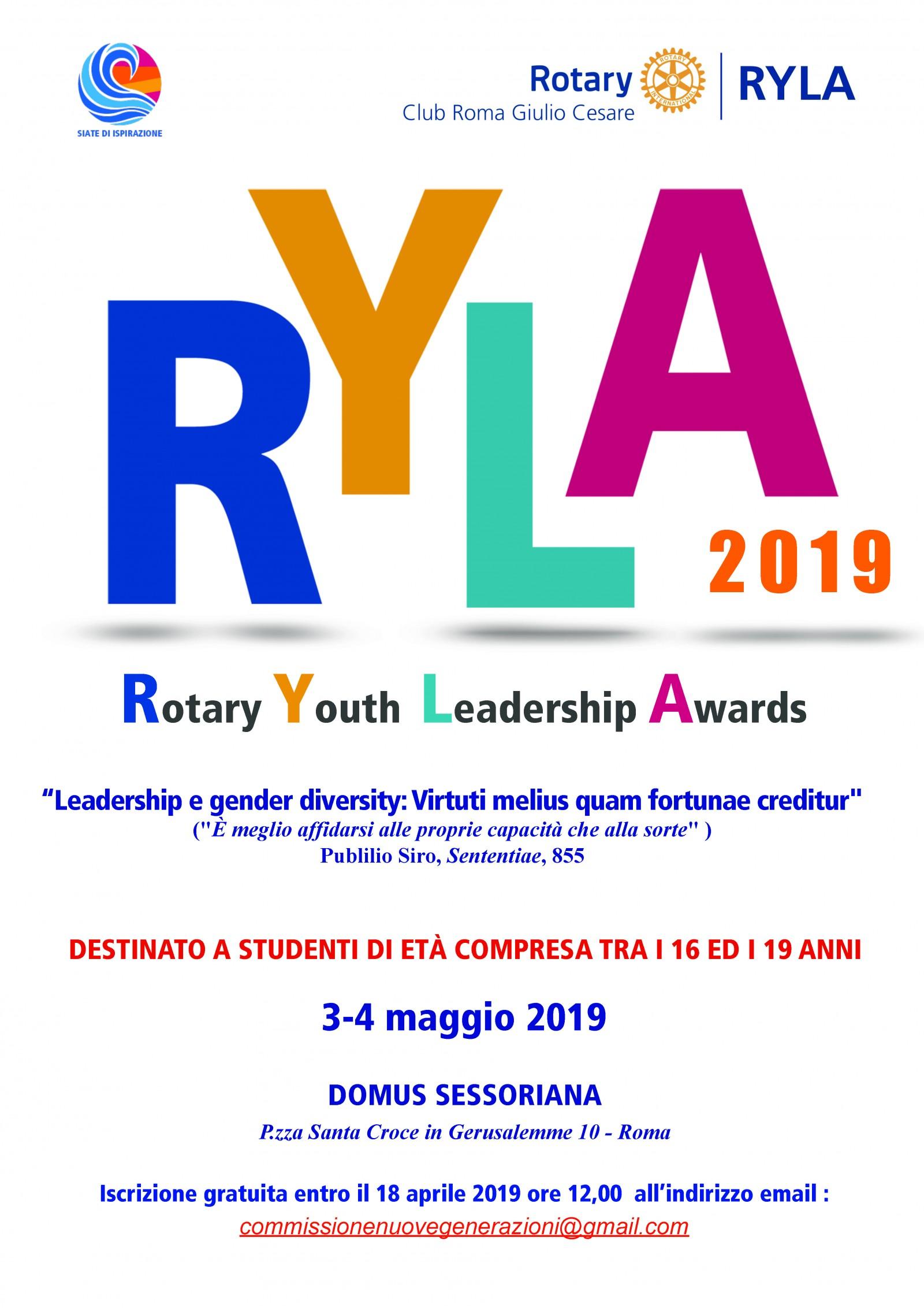 Gallery - RYLA 2019