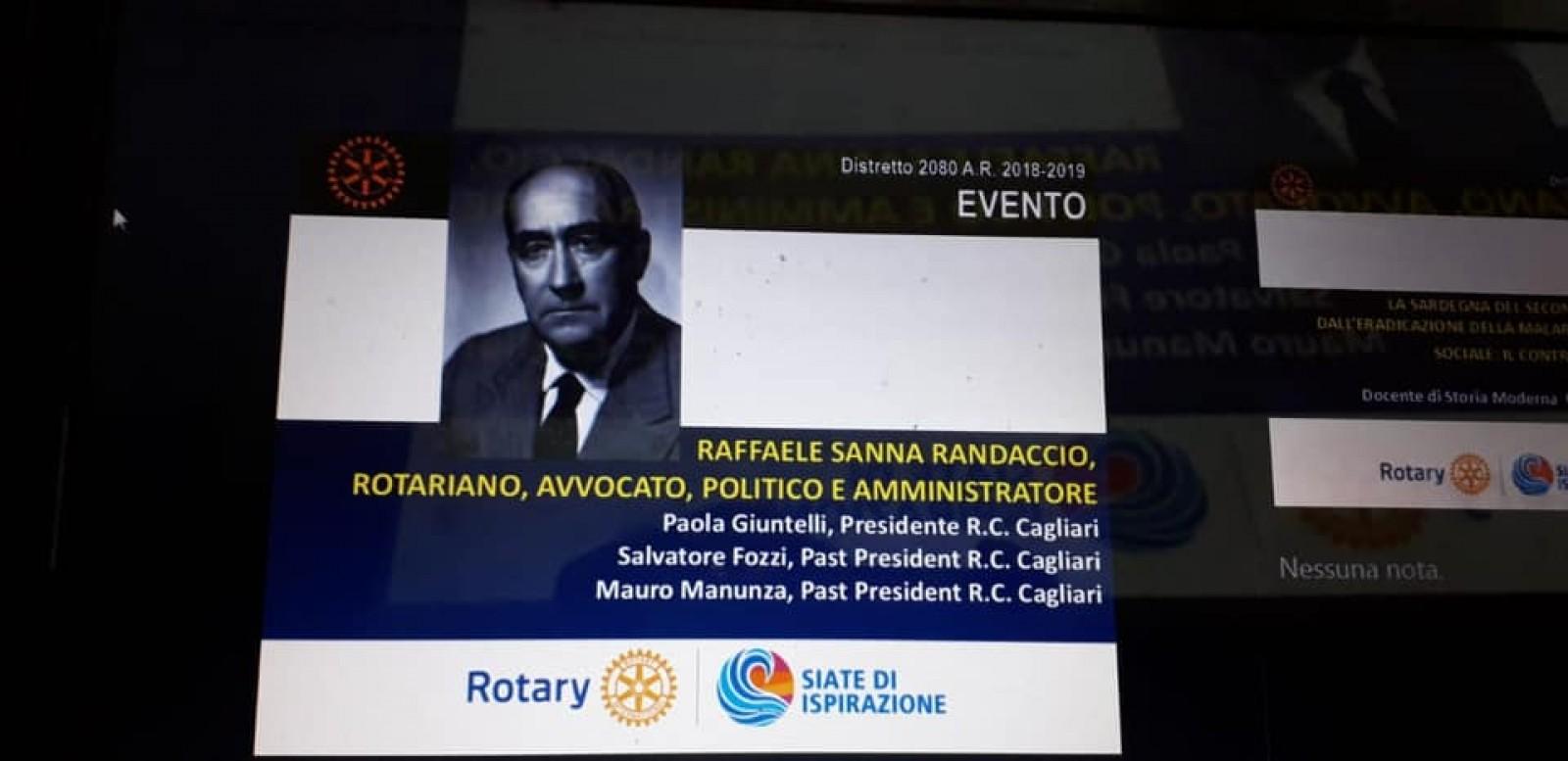 Gallery - Premio Interdistrettuale Sanna Randaccio per la solidarietà sociale