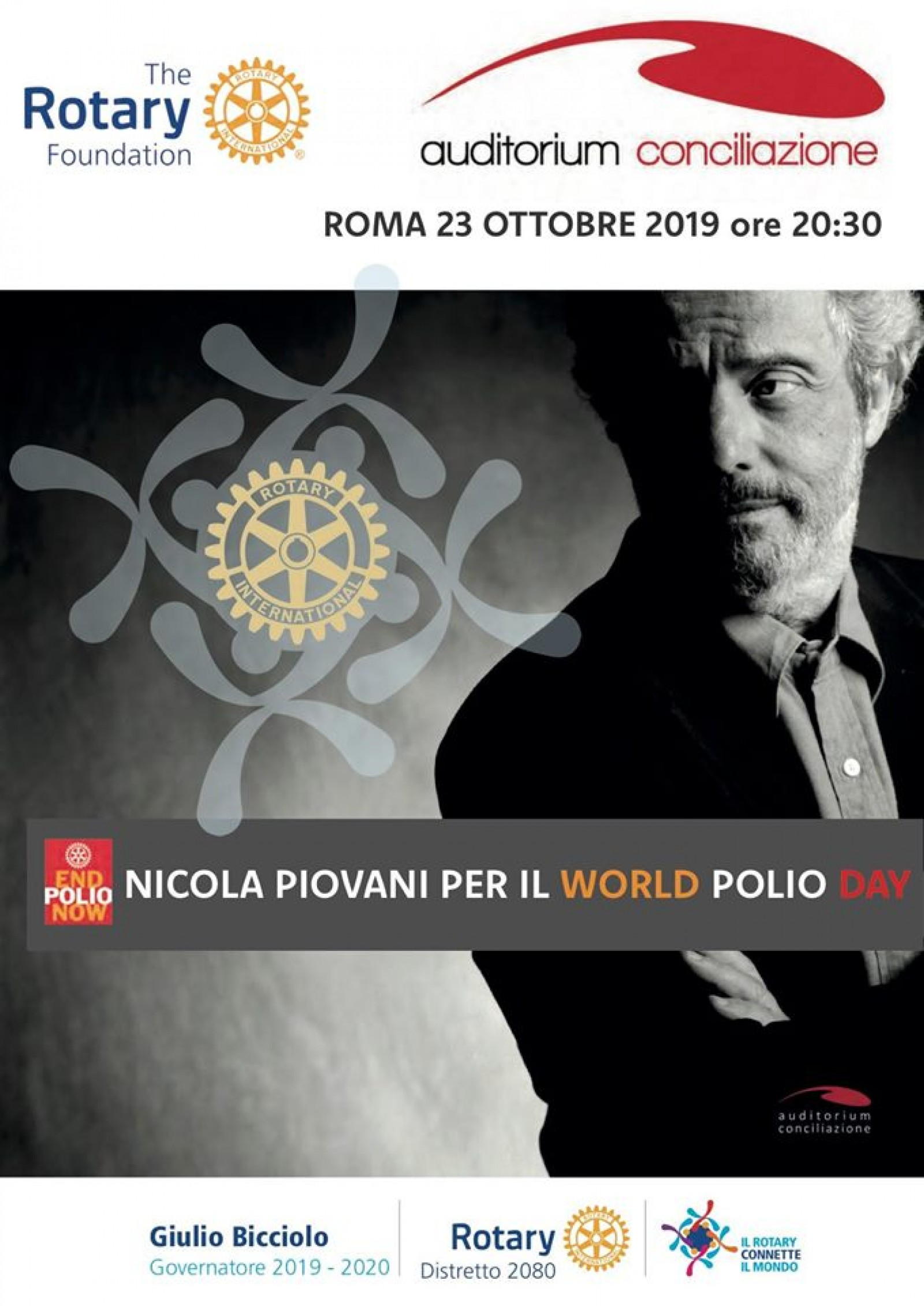 Gallery - 23 ottobre Nicola Piovani per il World Polio Day