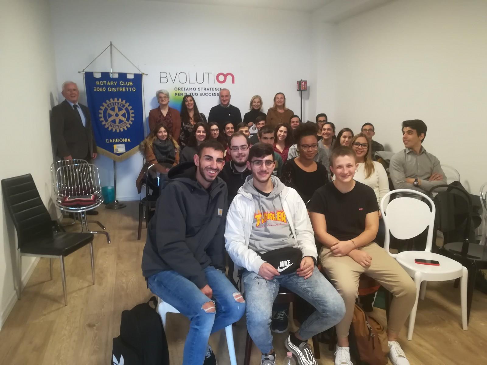 """Gallery - Progetto """"Alternanza Scuola-Lavoro"""" Seminario formazione presso BVolution srl"""