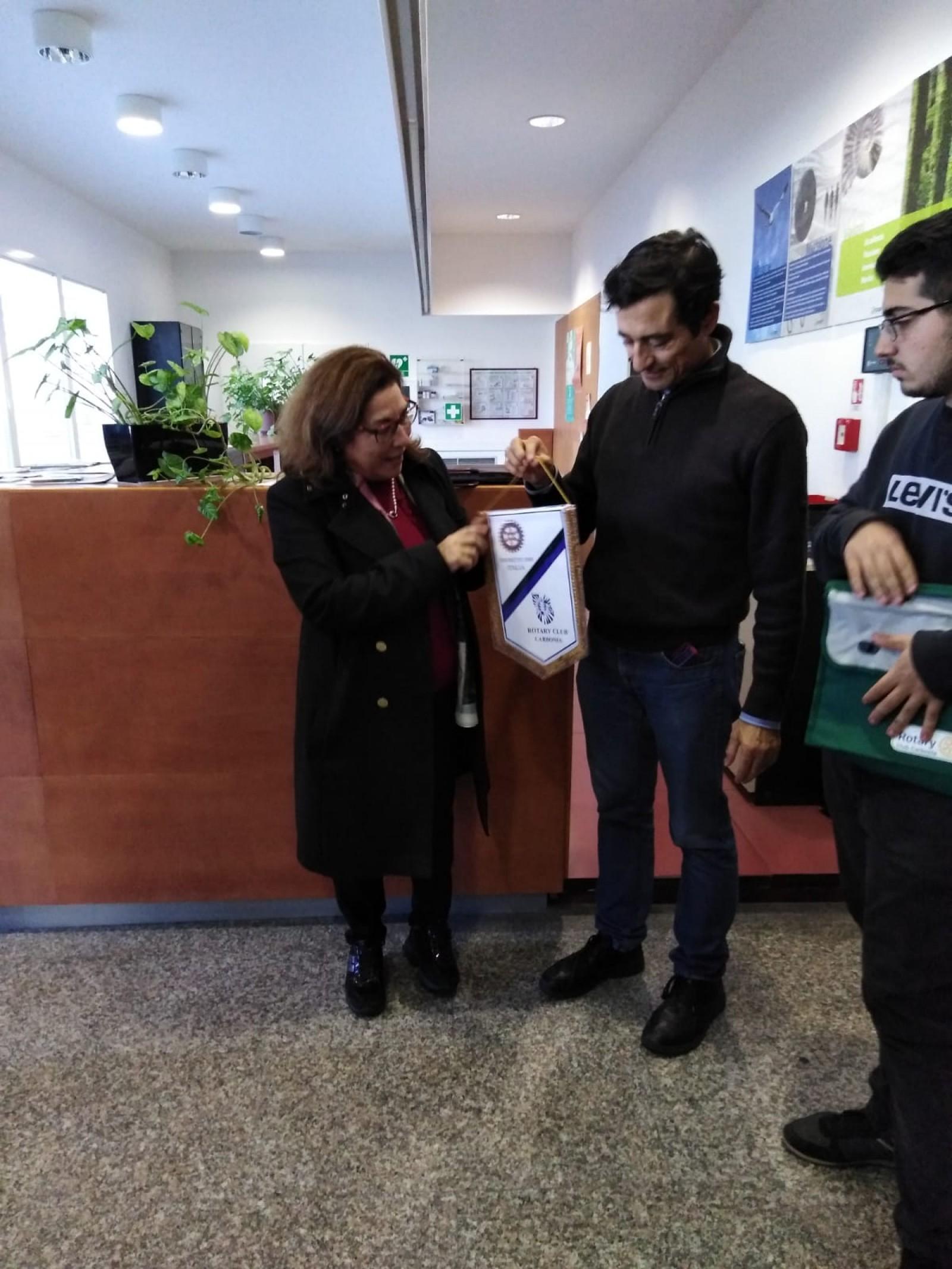 """Gallery - Progetto """"Alternanza Scuola Lavoro"""" Visita conoscitiva della struttura CRS4 Parco scientifico e tecnologico della Sardegna di """"Sardegna Ricerche""""."""