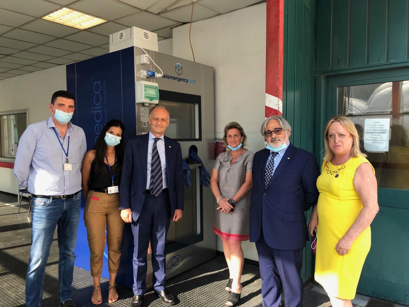 Gallery - Cerimonia di consegna delle apparecchiature sanitarie anti Covid-19